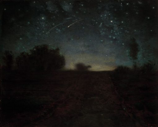 Starry Night   Jean Francois Millet   Oil Painting