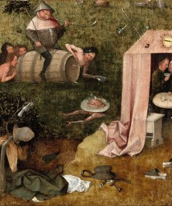 An Allegory of Intemperance | Jheronimus Bosch | Oil Painting
