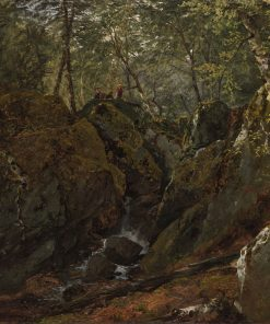 Catskill Waterfall | John Frederick Kensett | Oil Painting