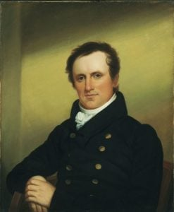 James Fenimore Cooper (1789-1851) | John Wesley Jarvis | Oil Painting