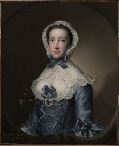 Portrait of Mrs William Chase