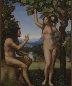 The Temptation of Adam and Eve | Mariotto Albertinelli | Oil Painting
