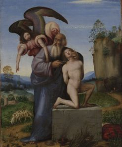 The Sacrifice of Isaac | Mariotto Albertinelli | Oil Painting