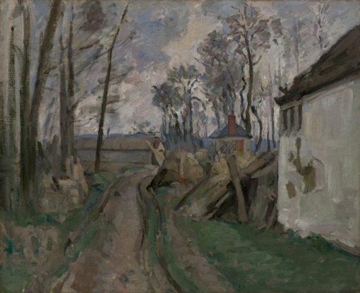 A Village Road near Auvers | Paul CEzanne | Oil Painting