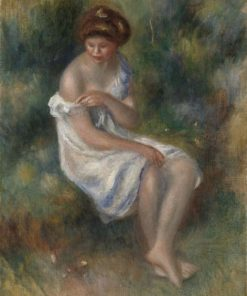 The Bather | Pierre Auguste Renoir | Oil Painting