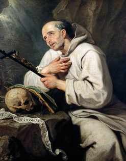 Saint Bruno | Gaspard de Crayer | Oil Painting