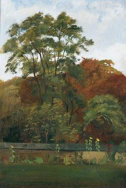 Outer Courtyard and Glade at Naworth | George Howard