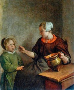 Mother and Child | Jan Havicksz. Steen | Oil Painting