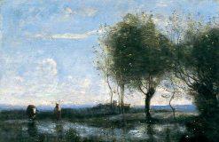 Landscape | Jean Baptiste Camille Corot | Oil Painting