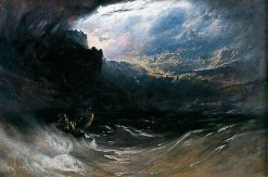 Christ Stilleth the Tempest | John Martin | Oil Painting