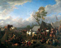 Military Encampment | Pieter van Bloemen | Oil Painting