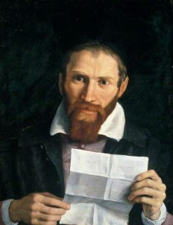 Monsignor Giovanni Battista Agucci | Annibale Carracci | Oil Painting
