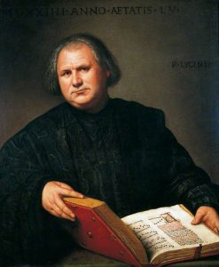 Portrait of a Man with a Missal | Bernardino Licinio | Oil Painting