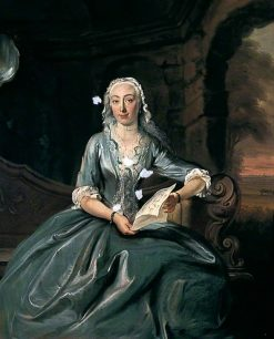 Portrait of a Lady   Cornelis Troost   Oil Painting