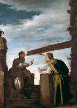 The Parable of the Moat and the Beam | Domenico Fetti | Oil Painting