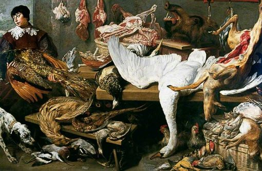 A Game Stall | Frans Snyders | Oil Painting