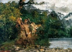 Swiss Landscape | Gustave Courbet | Oil Painting