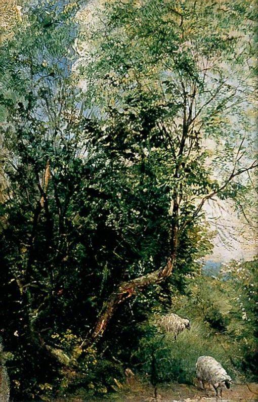 Hob Moor (II) | Henry Moore | Oil Painting