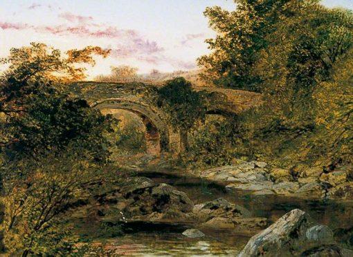 Holne Bridge on the Dart