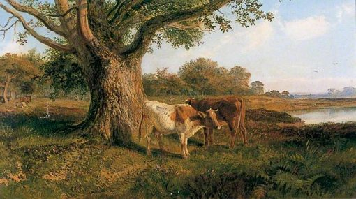 In Richmond Park | Henry Moore | Oil Painting