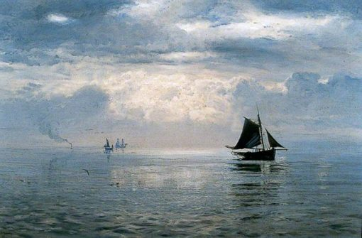 Calm Before the Storm | Henry Moore | Oil Painting