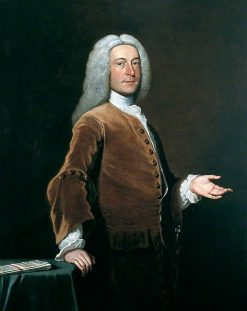 The Right Honourable Edward Thompson of Marston | Joseph Highmore | Oil Painting