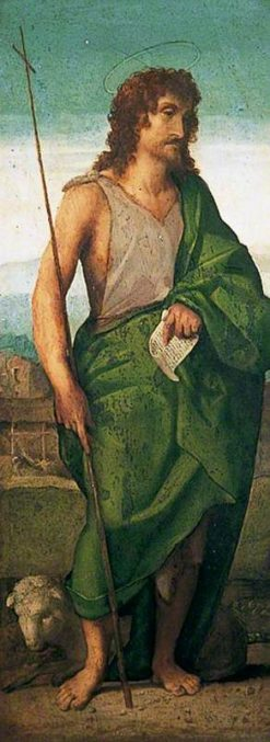 St John the Baptist | Palma il Vecchio | Oil Painting