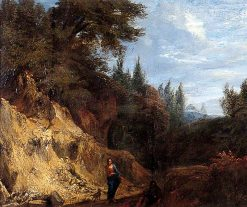 The Good Samaritan | Salvator Rosa | Oil Painting