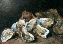 Still Life with Oysters | ThEodule Augustin Ribot | Oil Painting