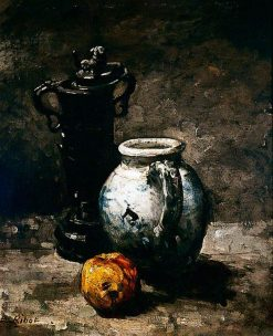 Still Life with Jug | ThEodule Augustin Ribot | Oil Painting