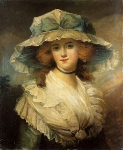 Portrait of a Lady   George Romney   Oil Painting