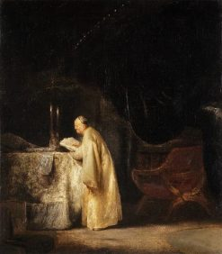 Zechariah in the Temple | Jan Lievens | Oil Painting