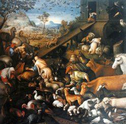 Animals Entering Noah's Ark | Leandro Bassano | Oil Painting