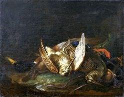 Still Life with Woodcocks | Martino Altomonti | Oil Painting