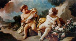 Allegory of the Power of Love | Francesco de Mura | Oil Painting