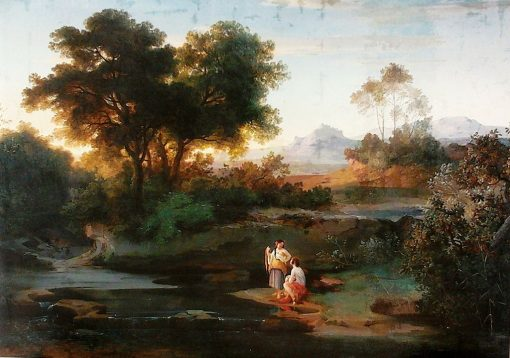 Italian Pastoral | Ludwig Richter | Oil Painting