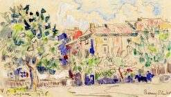 Bourg-Saint-Andéol | Paul Signac | Oil Painting