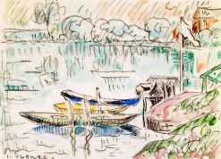 Paimpol | Paul Signac | Oil Painting