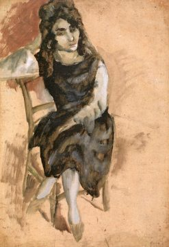 Persian Woman | Jules Pascin | Oil Painting