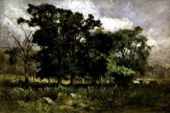 Tree Landscape | Edward Mitchell Bannister | Oil Painting