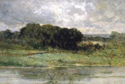 Swale Land | Edward Mitchell Bannister | Oil Painting