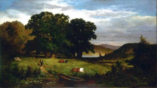 Oak Trees | Edward Mitchell Bannister | Oil Painting