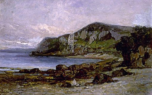 Rocks at Newport | Edward Mitchell Bannister | Oil Painting