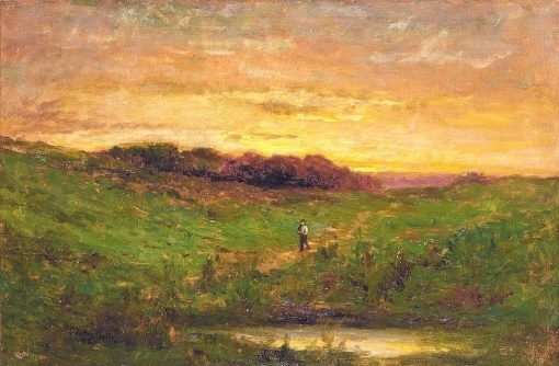 Sunset | Edward Mitchell Bannister | Oil Painting