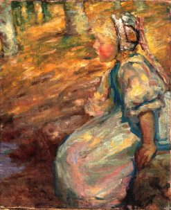 Peasant Girl | Alice Pike Barney | Oil Painting