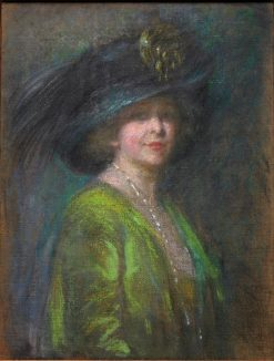 Hat and Shadow   Alice Pike Barney   Oil Painting