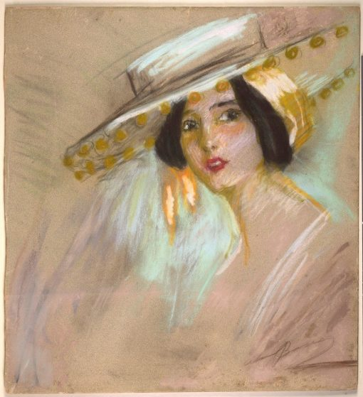Spanish Fantasy II   Alice Pike Barney   Oil Painting