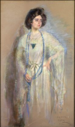 Laura in Whites | Alice Pike Barney | Oil Painting