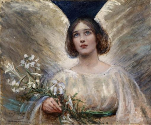 Easter Lilies   Alice Pike Barney   Oil Painting