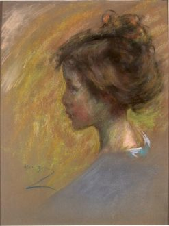 Youthful Model | Alice Pike Barney | Oil Painting